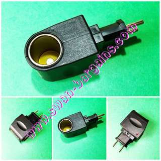 Home Plug 220V AC to 12V DC Cigarette Lighter Adapter Converter
