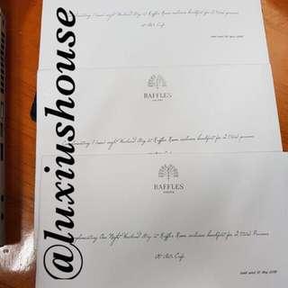 Voucher Menginap di Hotel Raffles Jakarta