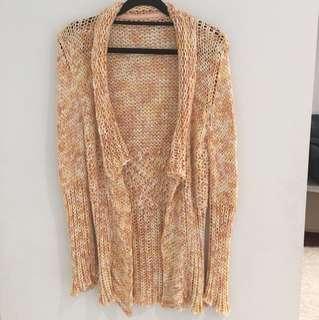 SCANLAN & THEODORE Italian Yarn Knit Open Jacket