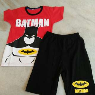 Batman Boy's set #Bajet20