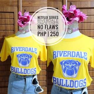 Riverdale Tshirt Yellow PRELOVED