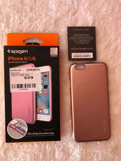 ORIGINAL SPIGEN THIN FIT FOR IPHONE 6/6s
