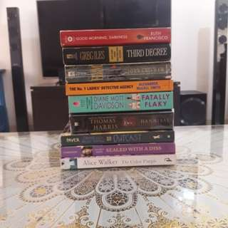 Bestseller Novels for 80 EACH