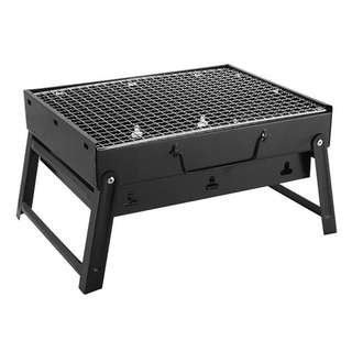 💯 Portable Charcoal Barbecue Stove for Outdoor Picnic BBQ Stainless Steel Grill