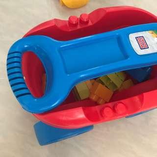 積木玩具車