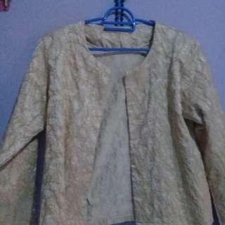 Blazer cardigan outer