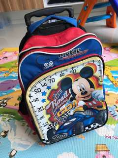 kids children toddler trolley bag