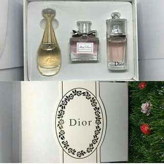 Dior 3 in 1 Gift Set