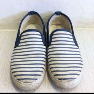 懶人鞋❤️平底鞋 包鞋 條紋