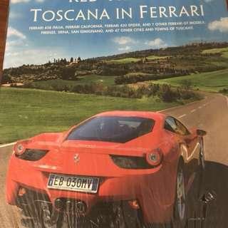 Tuscany by Ferrari book