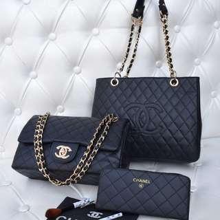 Chanel combo handbags
