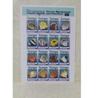 nicaragua(尼加拉瓜) stamp