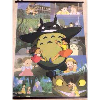 My Neighbor Totoro Wallscroll/Fabric poster (Studio Ghibli Anime Japanese)