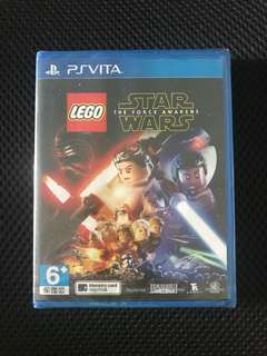 PS Vita Lego Starwars the force awakens