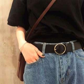 Pre order! Ulzzang Korean Style Ring Belt