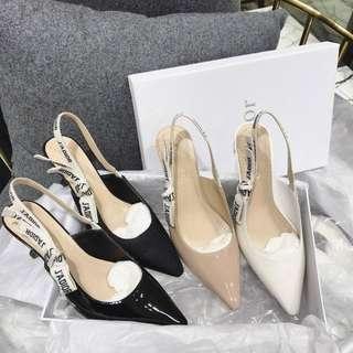 dior shoes kitten heels