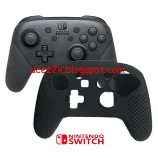 [BN] Nintendo Switch Pro Controller HQ Silicone Cover Skin (Brand New)
