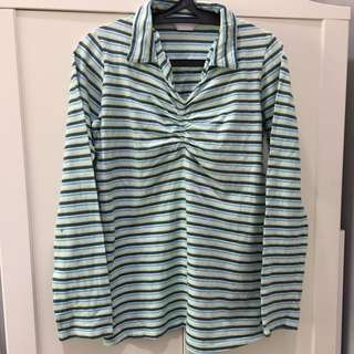 Mothercare Maternity stripe shirt