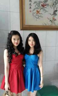 Bustier dress ( available in both color )