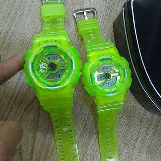 Gshock Couple Jelly