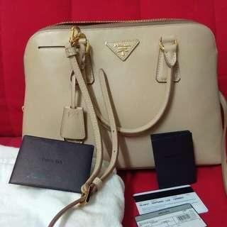 Authentic Prada Saffiano Lux Bag