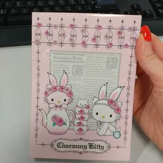 Hello Kitty Note book charmmy kitty 單行薄
