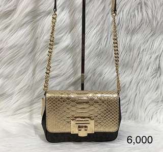 MK Tina flap crossbody bag small