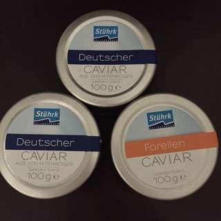 stuhrk deutscher caviar forellen 德國黑魚子醬 紅魚子醬