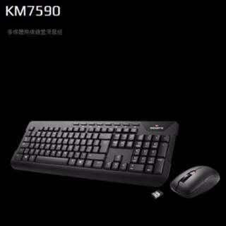Gigabyte KM7590 無線鍵盤及滑鼠套裝