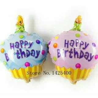 BN Birthday Cake Balloon Foil