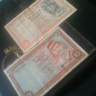 Brunei-Malaysia $10
