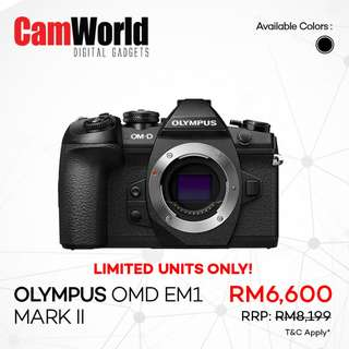 OLYMPUS OMD EM1 Mark II Special Deal