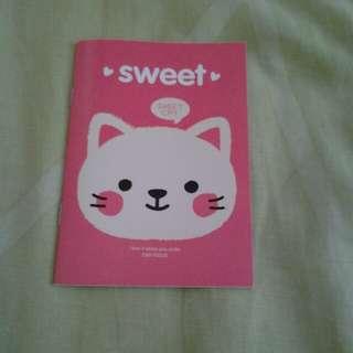 Cute mini notebook