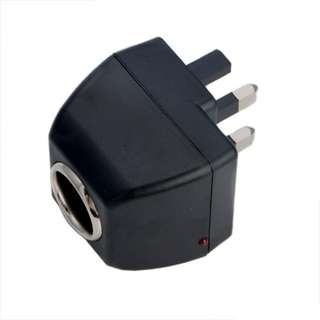 AC To DC Car Cigarette Lighter Socket Converter Charger Switch Adapter