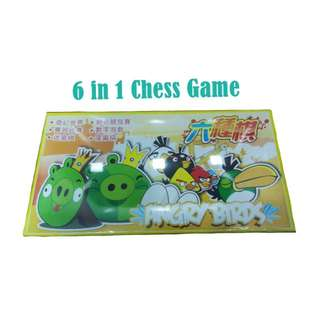 Angry Bird Chess Game 6 in 1