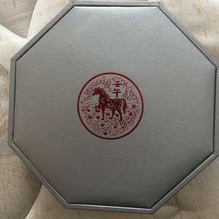 2002 Lunar Horse $10 Silver coin