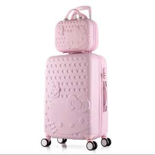 ⚡️Free Hello Kitty luggage cover ⚡️Brand New Hello Kitty luggage set @ $89. Ideal as 🎁gifts or for your own use❗️Do refer to photos & descriptions on my ad 👌🏻