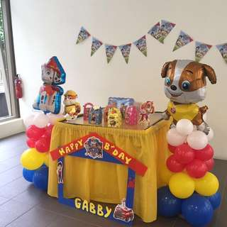Paw Patrol Party Items