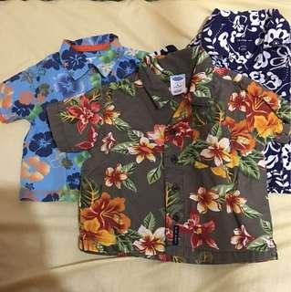 Hawaiian polo bundle
