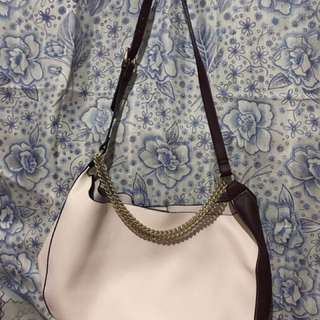 Zara Medium Bag with cloth pouch inside