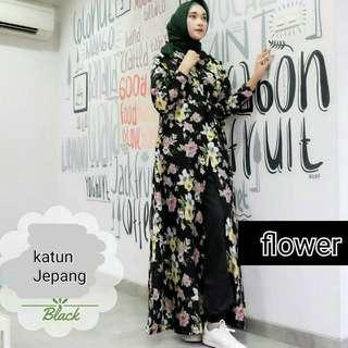MF - 0318 - Outwear Flower Cardi
