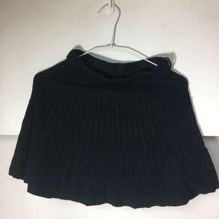 🚚 建議xs傘狀黑色短裙