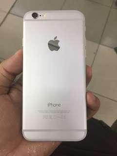 iphone 6 64gb globe silver edition