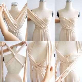 White Infinity Dress
