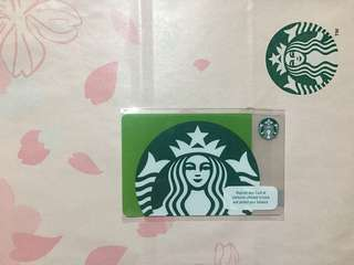 🇵🇭 Starbucks Philippines Card Green Siren