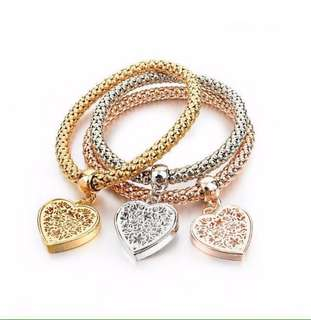 Pandora Tree of life heart shape bracelets