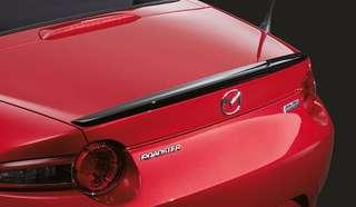 MAZDA MX5 ND Black Rear Spoiler BNIB (Stock)