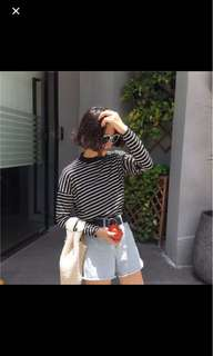 [WTS] ulzzang striped top
