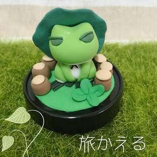 🐸Ryo Kaeru 旅かえる Travel Frog Craft/ Clay / Gift