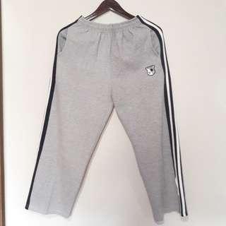 Grey Training Pants